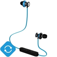 "Беспроводные Bluetooth наушники ""Trendwoo Runner X9"" Синие"